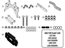 GIVI Specifieke montagekit voor toolbox S250 TL6401KIT