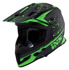 IXS iXS 361 2.0 Mat Noir - Vert - Blanc