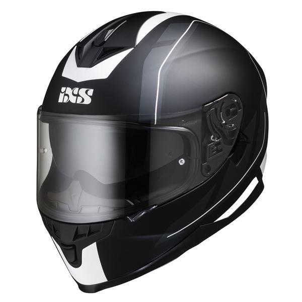 IXS iXS 1100 2.0 Mat Noir - Blanc