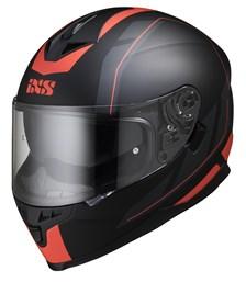 IXS iXS 1100 2.0 Mat Zwart - Rood