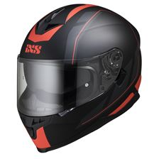 IXS iXS 1100 2.0 Mat Noir - Rouge