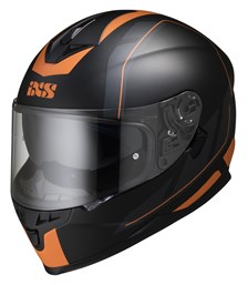 IXS iXS 1100 2.0 Mat Noir - Orange