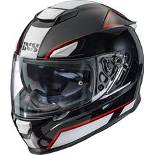 IXS iXS 315 2.1 Zwart - Wit - Rood