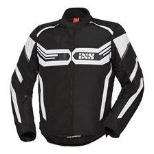 IXS RS-400-ST Jacket Zwart - Wit