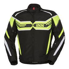 IXS RS-400-ST Jacket Noir - Jaune Fluo - Blanc