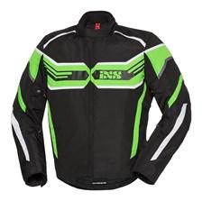 IXS RS-400-ST Jacket Zwart - Groen - Wit
