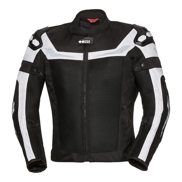 IXS RS-1000-Air Jacket Zwart - Wit