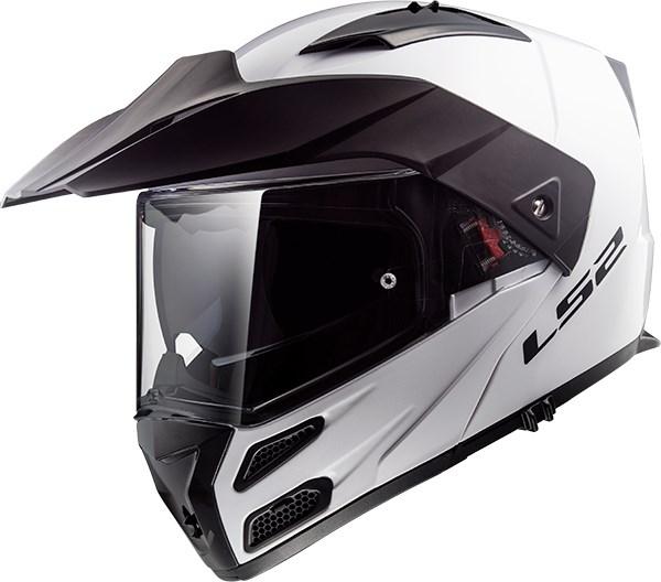 LS2 FF324 Metro Evo Solid Blanc
