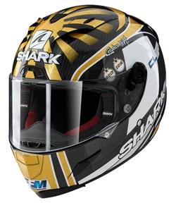 SHARK : RACE-R Pro Carbon Replica Zarco WC 2016 - Carbone-Or-Argent DQS