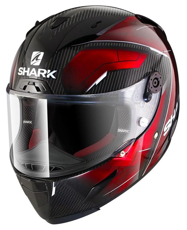 SHARK RACE-R Pro Carbon Deager Carbone-Chrome-Rouge DUR
