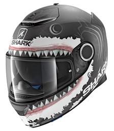 Spartan Replica Lorenzo White Shark Mat Zwart-Wit-Antraciet KWA