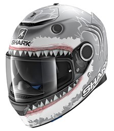 Spartan Replica Lorenzo White Shark Mat Zilver-Wit-Antraciet SWA