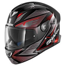 SHARK Skwal 2 Draghal Noir-Anthracite-Rouge KAR
