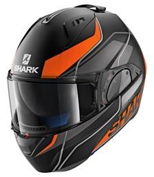 SHARK Evo-One 2 Krono Mat Noir-Orange-Blanc KOW