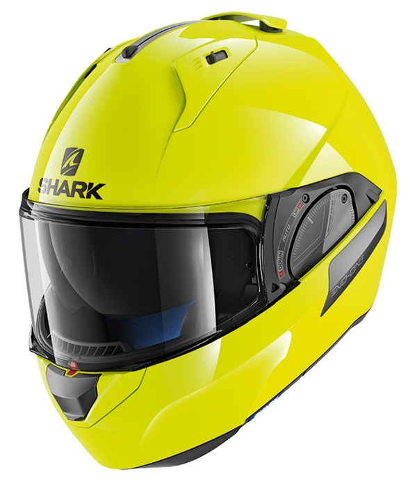 SHARK Evo-One 2 High Visibility Jaune-Noir-Jaune YKY