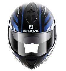 SHARK Evoline 3 Corvus Noir-Blanc-Bleu KWB