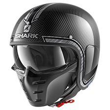 SHARK S-Drak Carbon Vinta Carbone-Chrome-Argent DUS