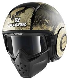 SHARK Drak Evok Mat Zwart-Groen-Zilver KGS