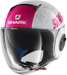 SHARK Nano Tribute RM Lady Wit-Paars-Antraciet WVA
