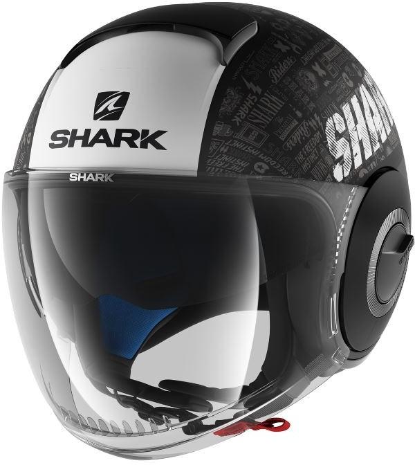 SHARK Nano Tribute RM Mat Noir-Blanc-Anthracite KWA
