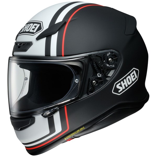 SHOEI NXR Recounter Mat Noir-Blanc-Rouge TC-5