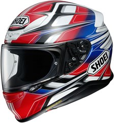 SHOEI NXR Rumpus Rouge-Blanc-Bleu TC-1