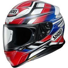 SHOEI NXR Rumpus Rood-Wit-Blauw TC-1