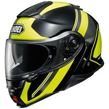 SHOEI Neotec II Excursion Zwart-Fluo Geel TC-3