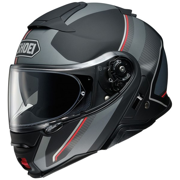SHOEI Neotec II Excursion Mat Zwart-Grijs TC-5