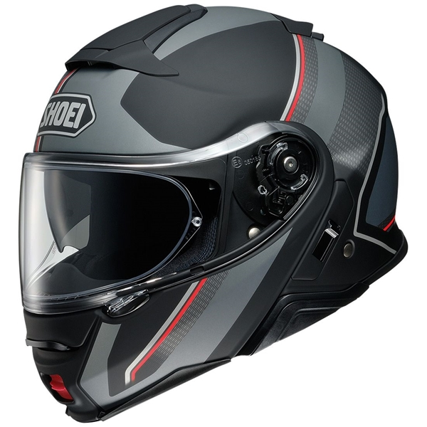 SHOEI Neotec II Excursion Mat Noir-Gris TC-5