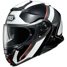 SHOEI Neotec II Excursion Zwart-Wit TC-6