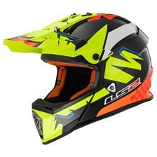 MX437 Volt Zwart-Geel-Oranje