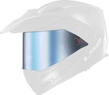 LS2 Vizier FF-MHR-77 Blauw spiegelvizier