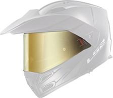 LS2 Vizier FF-MHR-77 Goudkleurig spiegelvizier
