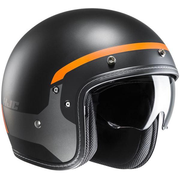 HJC FG-70s Modik Zwart - Grijs - Oranje