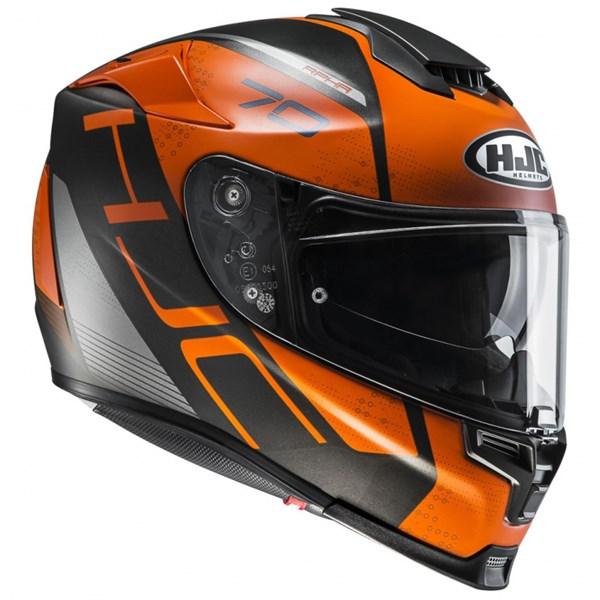 HJC RPHA-70 Vias Mat Noir - Orange