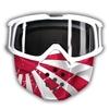 SHARK Drak/Raw Bril + masker Japan