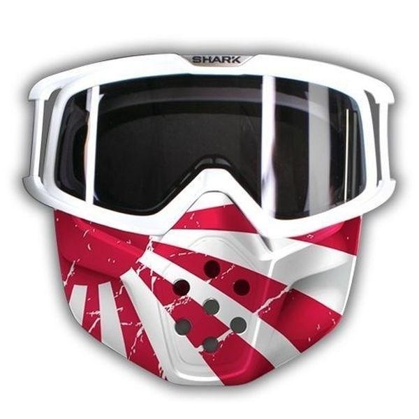 SHARK Drak/Raw Masque et lunettes Japan