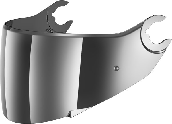 SHARK Visière VZ160 Iridium chrome V7 (préparée pour Pinlock)