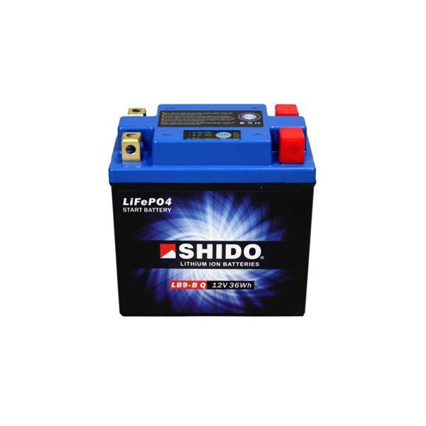SHIDO Lithium-Ion batterij LB9-B-Q