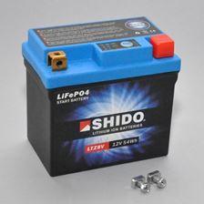 SHIDO Lithium-Ion batterij LTZ8V