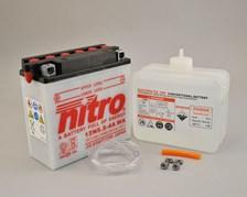 NITRO Conventionele batterij met fles zuur 12N5.5-4A-WA