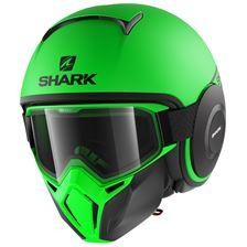 SHARK Street-Drak Street-Neon Mat Groen-Zwart-Zwart GKK
