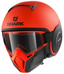 SHARK Street-Drak Street-Neon Mat Orange-Noir-Noir OKK