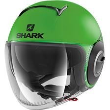 SHARK Nano Street-Neon Mat Groen-Zwart-Zwart GKK