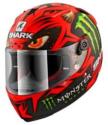 SHARK RACE-R Pro Lorenzo Austrian GP Limited edition Mat Rood-Zwart-Groen RKG
