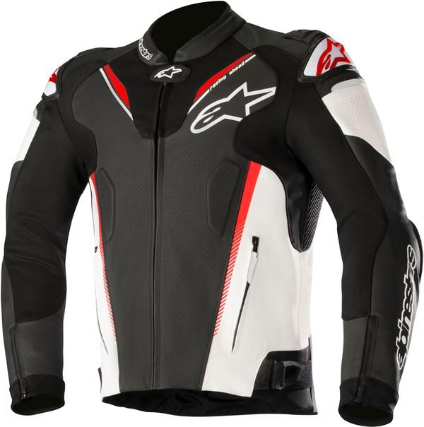 ALPINESTARS Atem V3 Jacket Zwart-Wit-Rood Fluo