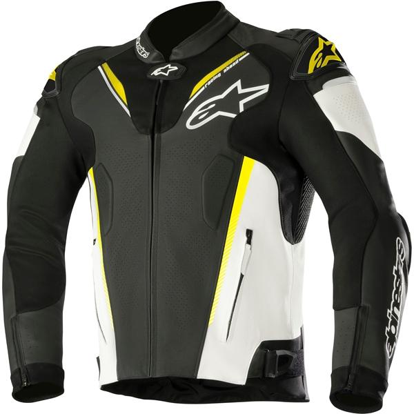 ALPINESTARS Atem V3 Jacket Zwart-Wit-Geel Fluo