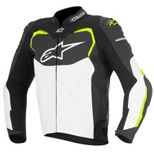 ALPINESTARS GP Pro Jacket Noir-Blanc-Jaune Fluo