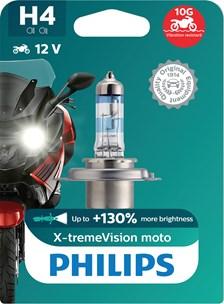 H4 X-tremeVision+ Moto